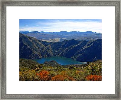 Black Canyon Of The Gunnison Framed Print