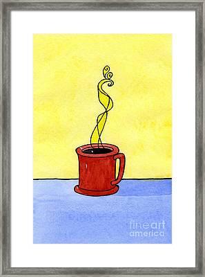 Black Coffee Framed Print by Norma Appleton