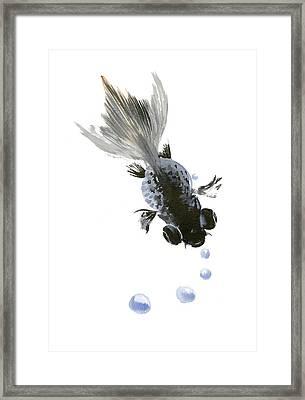 Black Fish Framed Print