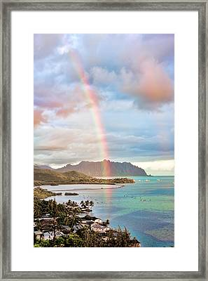 Black Friday Rainbow Framed Print