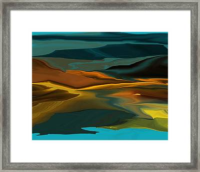Black Hills Abstract Framed Print