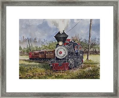 Black Hills Central Number 7 Framed Print