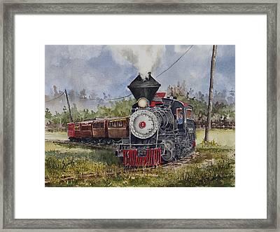 Black Hills Central Number 7 Framed Print