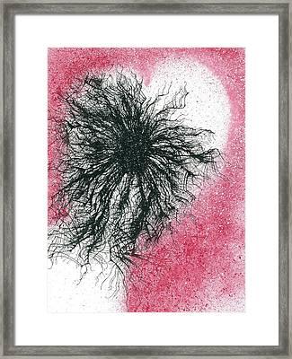 Black Hole Cosmology #673 Framed Print by Rainbow Artist Orlando L aka Kevin Orlando Lau