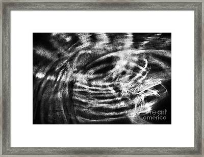 Black Hole Framed Print by Elena Lir-Rachkovskaya