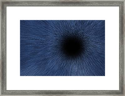 Black Hole Framed Print by Pelo Blanco Photo