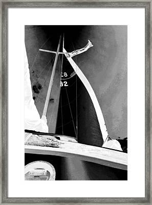 Black Hole Sun Framed Print by Gustave Kurz