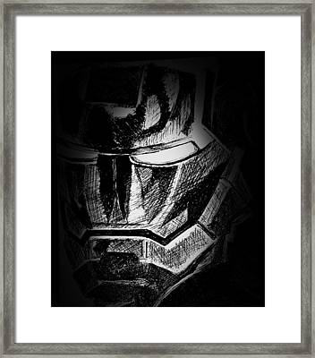Black Iron  Framed Print by Dave Rogers