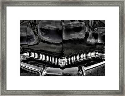 Black Framed Print by Jerry Golab