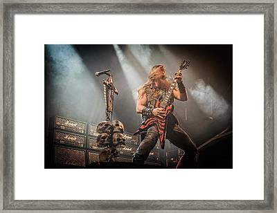 Black Label Society II Framed Print