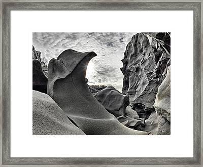 Black Magic Canyon Framed Print