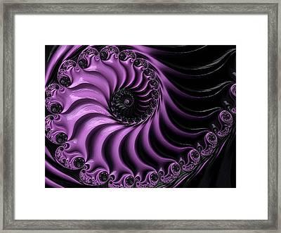 Black Magic Framed Print by Susan Maxwell Schmidt