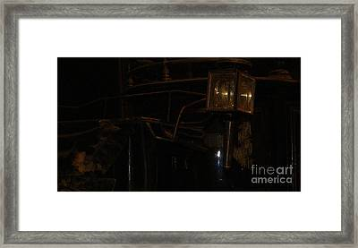 Black Mariah Waits Framed Print