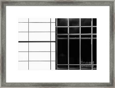 Black N White Framed Print by Tim Gainey