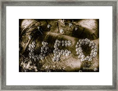 Black Ops Space Programs Framed Print by Jorgo Photography - Wall Art Gallery
