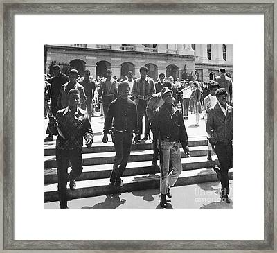 Black Panthers, 1967 Framed Print by Granger