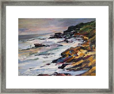Black Point Framed Print by Pati Maguire