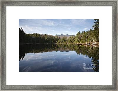 Black Pond - Lincoln Woods New Hampshire Usa Framed Print by Erin Paul Donovan