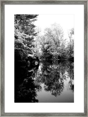 Black River 6 Framed Print