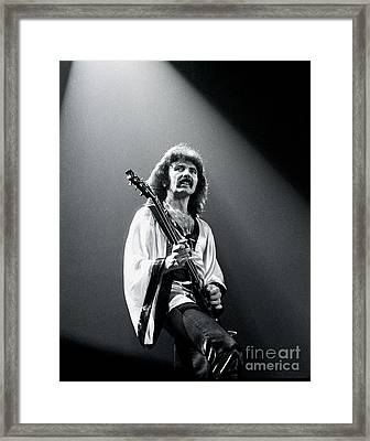 Black Sabbath 1978 Tony Iommi Framed Print
