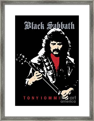 Black Sabbath No.02 Framed Print by Caio Caldas