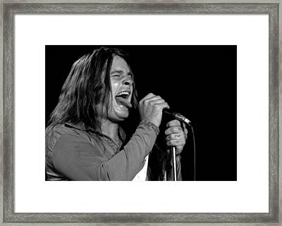 Black Sabbath Time Framed Print by Ben Upham