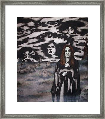 Black Sabbath Tribute Framed Print by Sam Hane