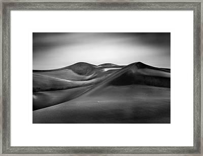 Framed Print featuring the photograph Black Silk by Alexander Kunz