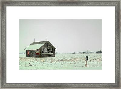 Black Swamp Territory Framed Print by Valencia Photography