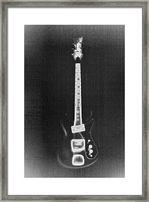 Black Thunder Framed Print