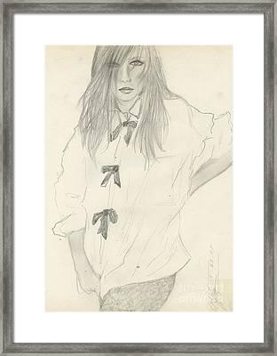 Black Tie Affair Framed Print by P J Lewis