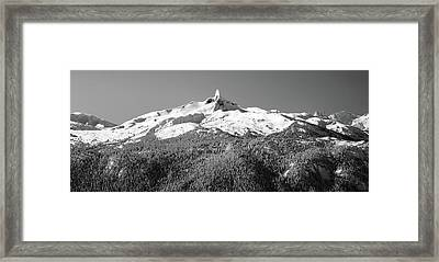 Black Tusk Framed Print by Pierre Leclerc Photography