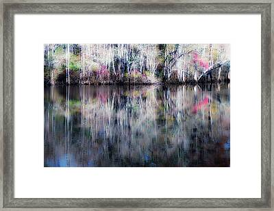 Black Water Fantasy Framed Print