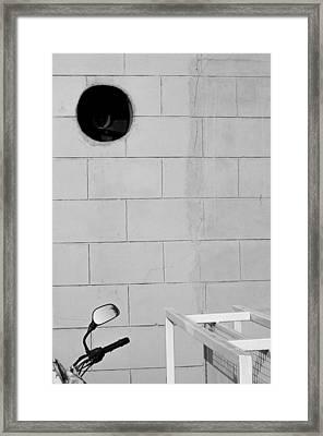 Black White Grey Framed Print by Prakash Ghai