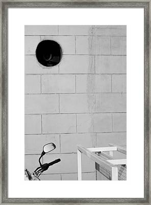 Framed Print featuring the photograph Black White Grey by Prakash Ghai