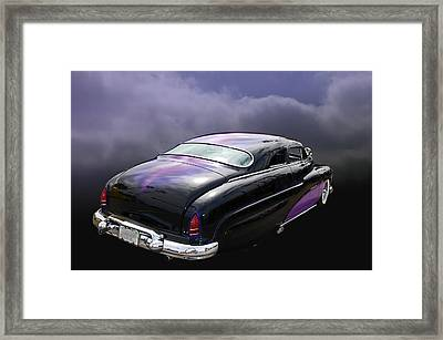 Black Widow Framed Print by Bill Dutting