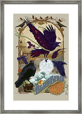 Blackbird 1 Framed Print