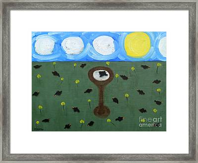 Blackbirds Framed Print by Patrick J Murphy