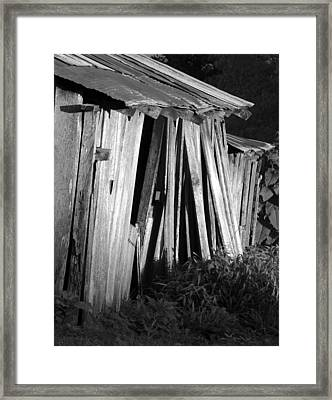 Blackburn-barn Framed Print by Curtis J Neeley Jr