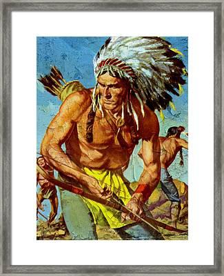 Blackfoot 11 Framed Print by Otis Porritt