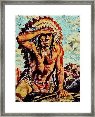 Blackfoot 8 Framed Print by Otis Porritt