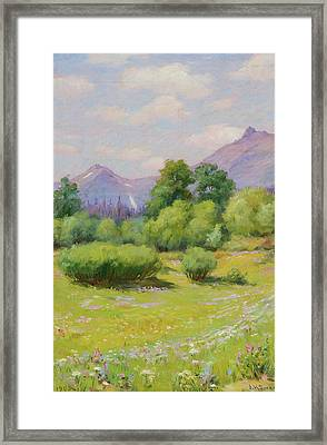 Blackfoot Country Framed Print by Joseph