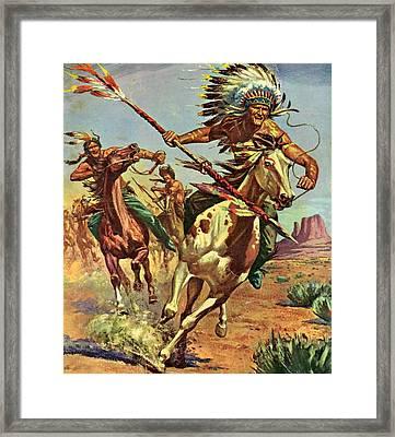Blackfoot Framed Print by Otis Porritt