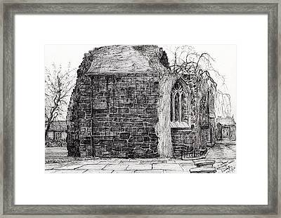 Blackfriars Chapel St Andrews Framed Print by Vincent Alexander Booth