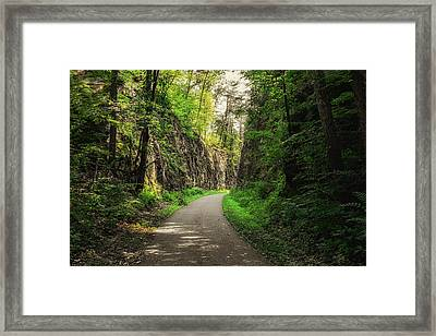 Blackhand Gorge Main Trail Framed Print