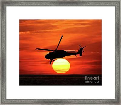 Blackhawk Beach Framed Print