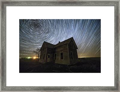 Blackhole Sun Framed Print by Aaron J Groen