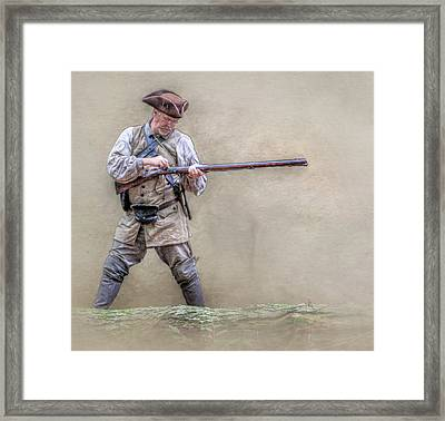 Blackpowder Woodsman Version Two Framed Print