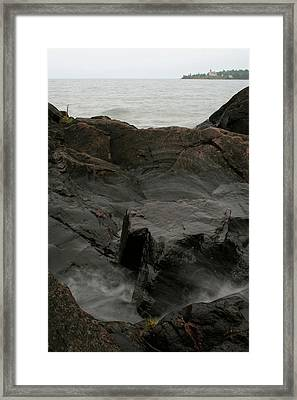 Blackrock Motion Framed Print