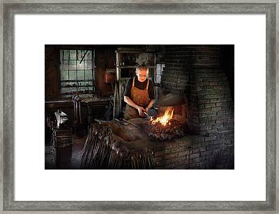 Blacksmith - Blacksmiths Like It Hot Framed Print